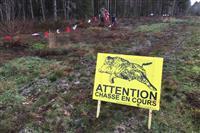 Les sentiers de Sologne trop souvent fermés au profit des chasseurs